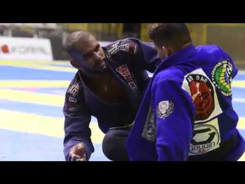 Brazilian Jiu-Jitsu: Erberth Santos vs Patrick Gaudio at Rio Open Jiu-Jitsu 2016 Absolute Final