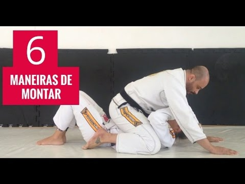 6 ways to mount efficiently in BJJ