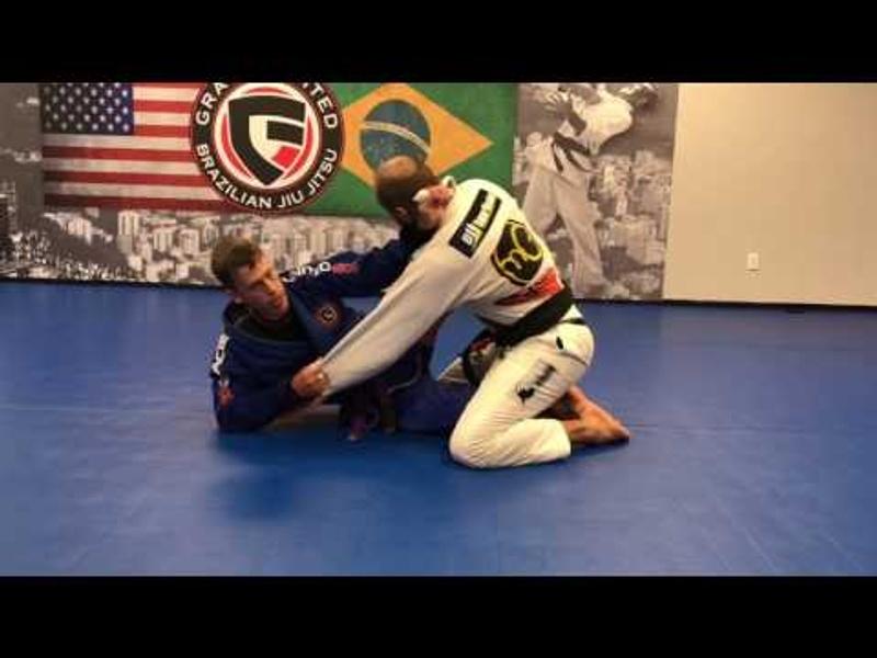 BJJ: Learn a sneaky lapel choke developed by a purple-belt