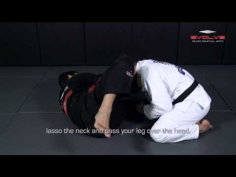 BJJ: Learn a sneaky choke from the open guard and surprise your opponent