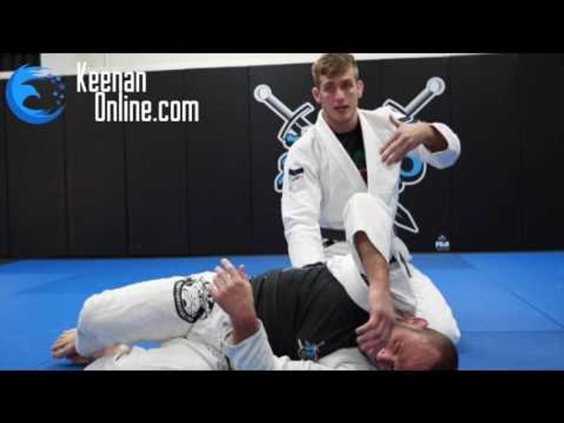 BJJ: Keenan Cornelius teaches a trick so you don't let side control slip away
