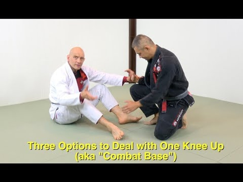 BJJ: Learn 3 options to sweep an opponent with a strong base