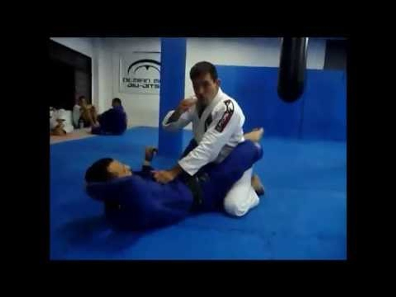 Brazilian Jiu-Jitsu lesson: Demian Maia teaches how to open a guard