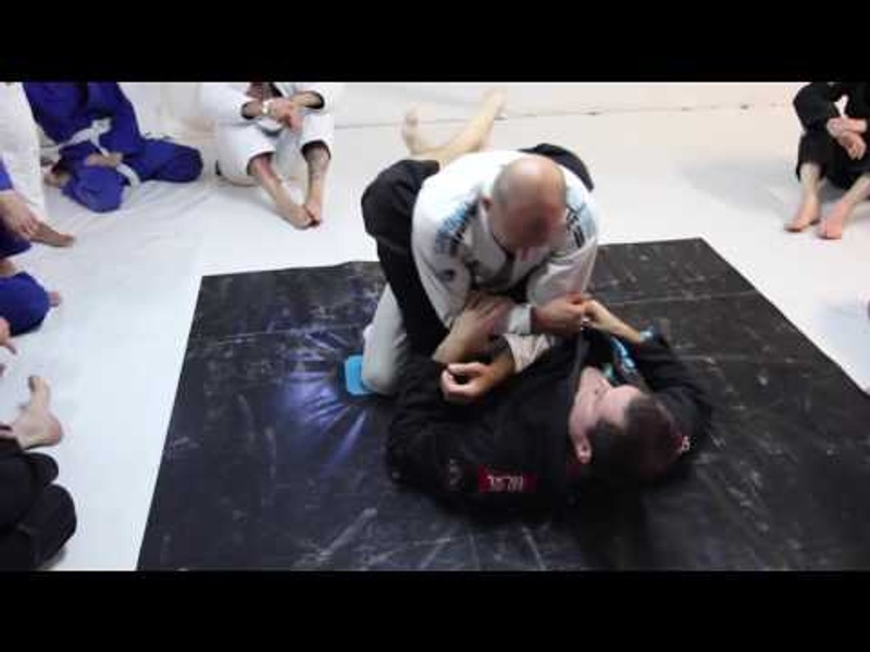 BJJ lesson: Roger Gracie shows how to adjust the armbar from the closed guard