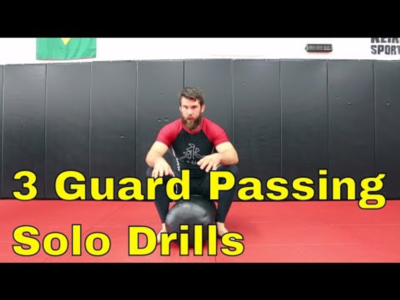3 drills for better guard-passing in BJJ