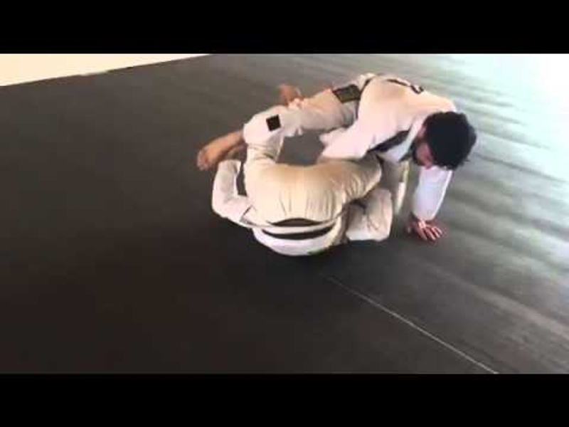 "Brazilian Jiu-Jitsu lesson: Tarsis Humphreys teaches how to apply the ""Tarsis Sweep"""