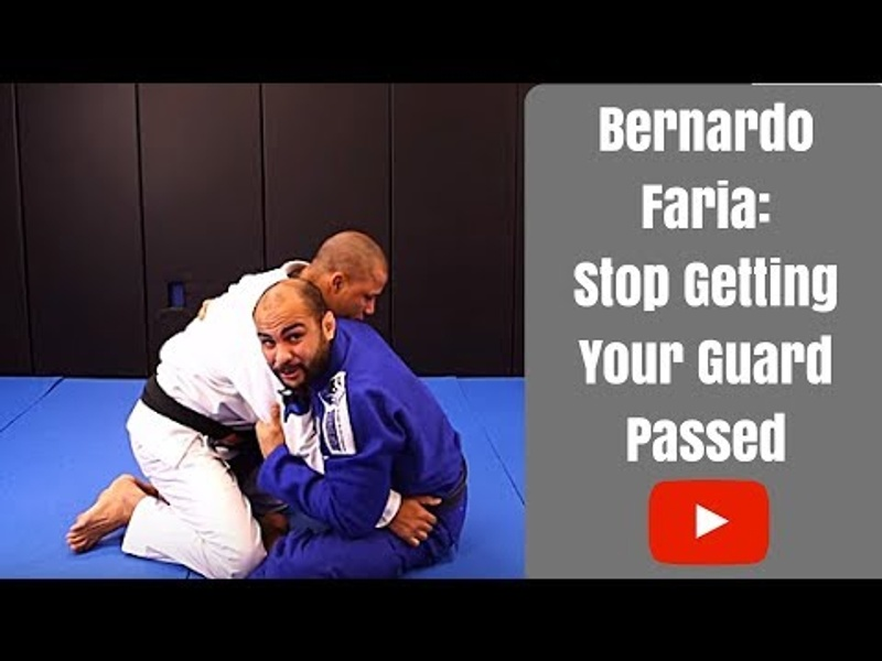 Brazilian Jiu-Jitsu lesson: Bernardo Faria teaches how to retain guard and stop the pass