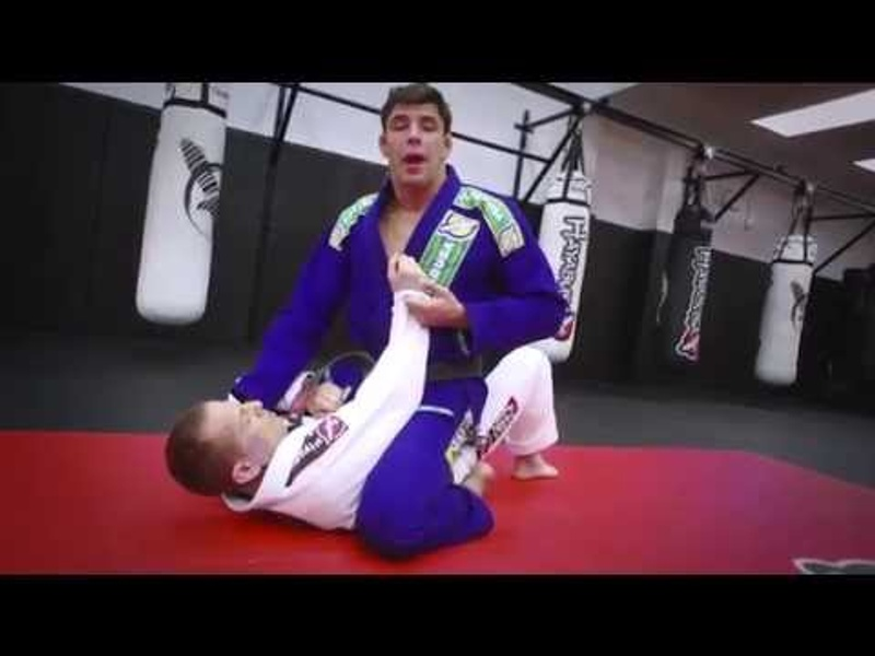BJJ technique: Learn the pendulum sweep from Marcus Buchecha