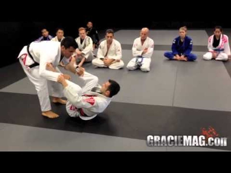Brazilian Jiu-Jitsu lesson: From the spider guard, Rubens Charles Cobrinha teaches two ways to taking the back