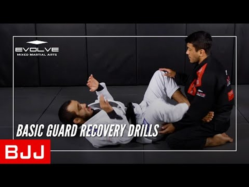 BJJ fundamentals: 7 basic drills for recovering the guard