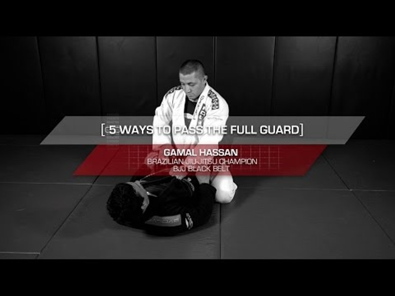 BJJ fundamentals: 5 essential ways of passing the closed guard