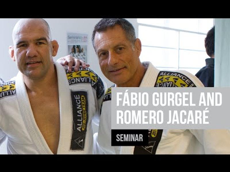 """#worldmaster2016: Romero """"Jacaré"""" Cavalcanti and Fábio Gurgel seminar"""