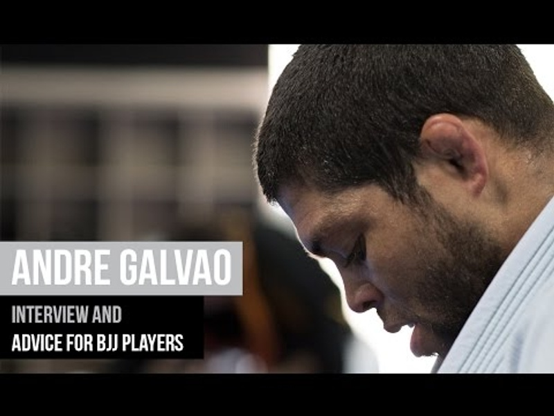 André Galvão talks BJJ career, retirement; advises practitioners