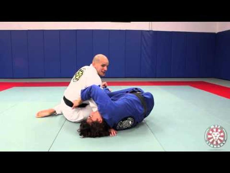 BJJ: Xande Ribeiro teaches a way to counter the berimbolo sweep with the gangster cross-face