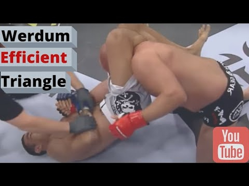 BJJ: Fabricio Werdum teaches his powerful triangle from closed guard