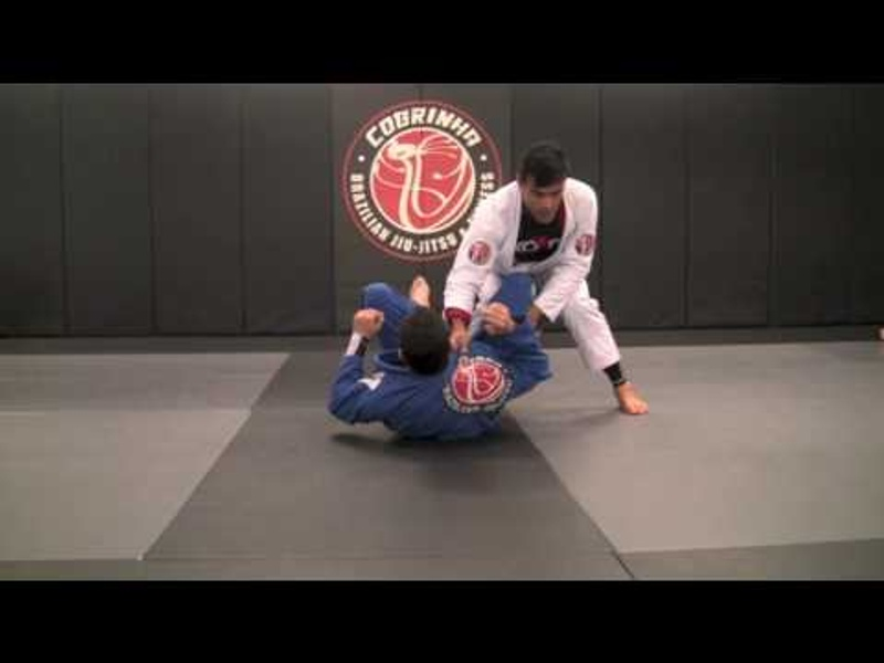 """BJJ lesson: Rubens """"Cobrinha"""" Charles teaches two sweeps from the inverted de la Riva"""