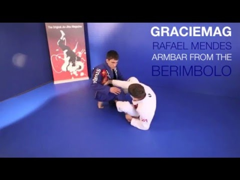 Rafael Mendes -- armbar from the berimbolo