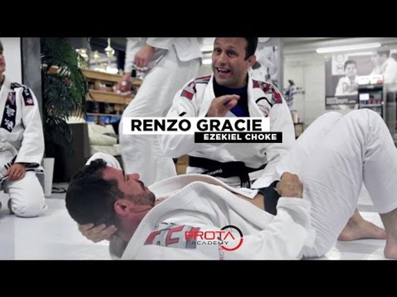 The efficiency of the ezekiel choke in BJJ, with Renzo Gracie