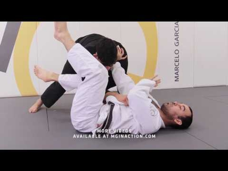 BJJ: Marcelo Garcia shows how to restore the guard and foil the passer
