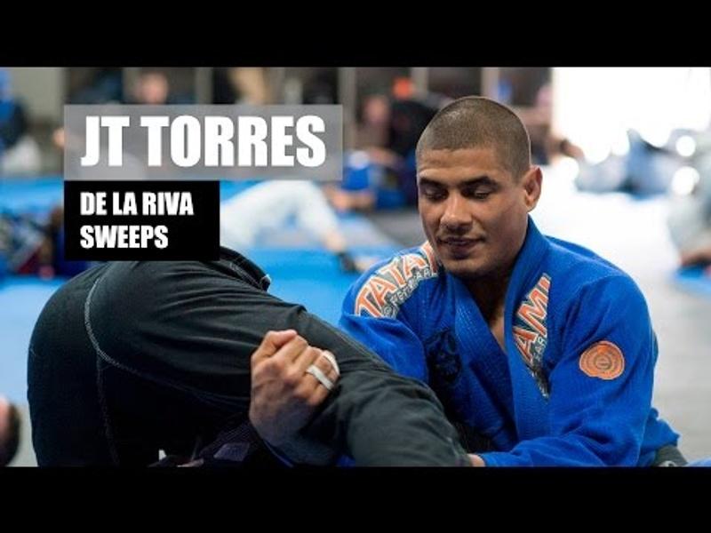 BJJ Technique: Sweeps from the De La Riva Guard with JT Torres