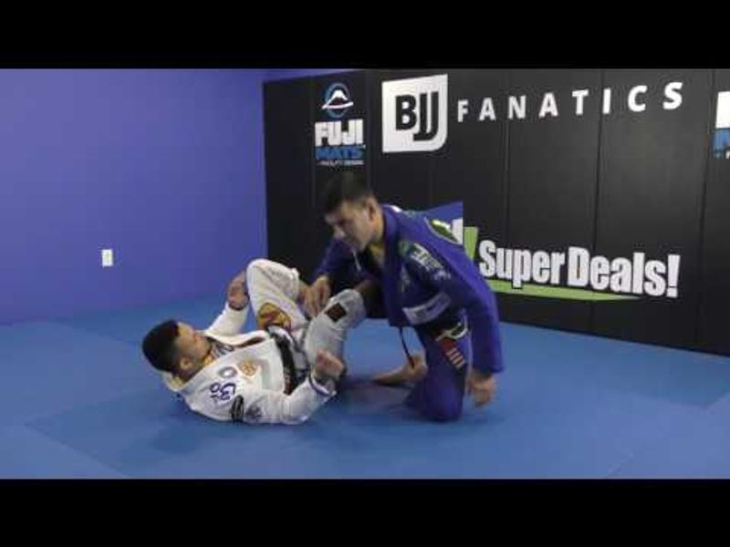 BJJ: Rodrigo Cavaca shows two ways to do the foot lock