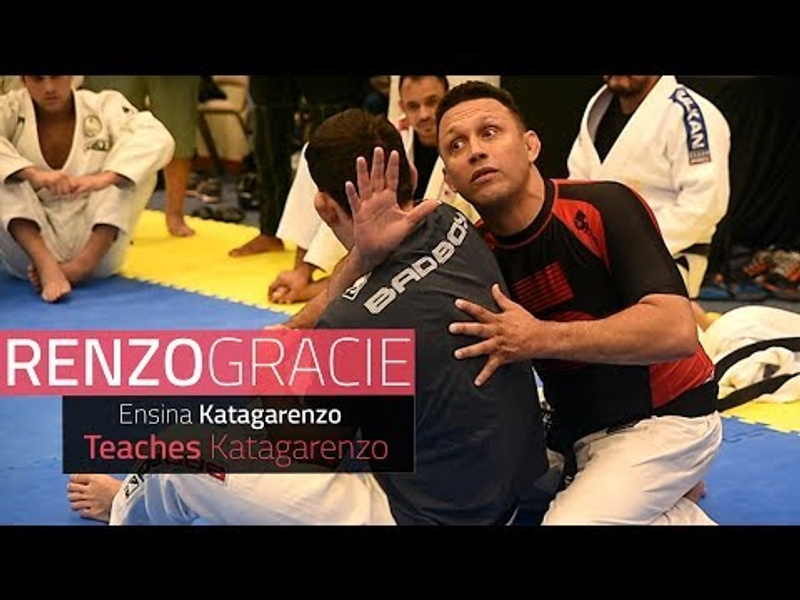 """BJJ: Learn the details of the """"katagarenzo"""" from its creator, Renzo Gracie"""