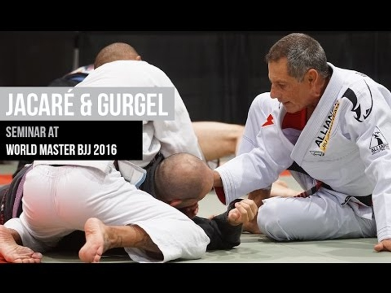 BJJ Full seminar with Alliance founders Romero Jacaré and Fabio Gurgel