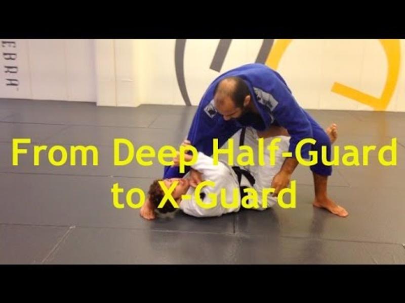Brazilian Jiu-Jitsu lesson: Deep half-guard to X-guard with Jonathan Satava