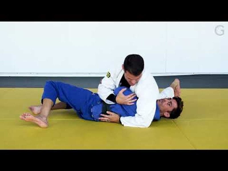 BJJ lesson: From side control to the mount