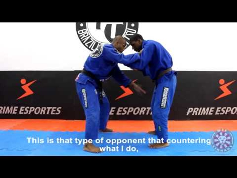 Fernando Tererê teaches his favorite takedown in BJJ