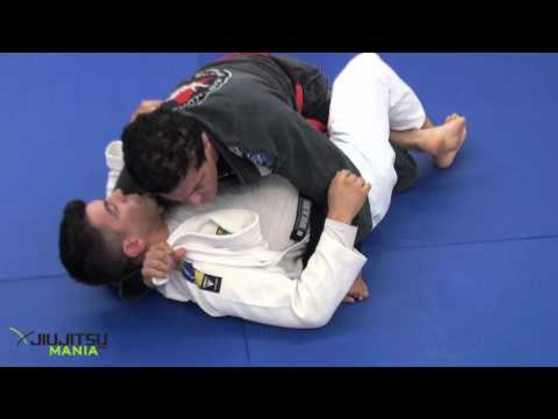 BJJ lesson: Jean Jacques Machado -- a lapel choke starting from the half-guard