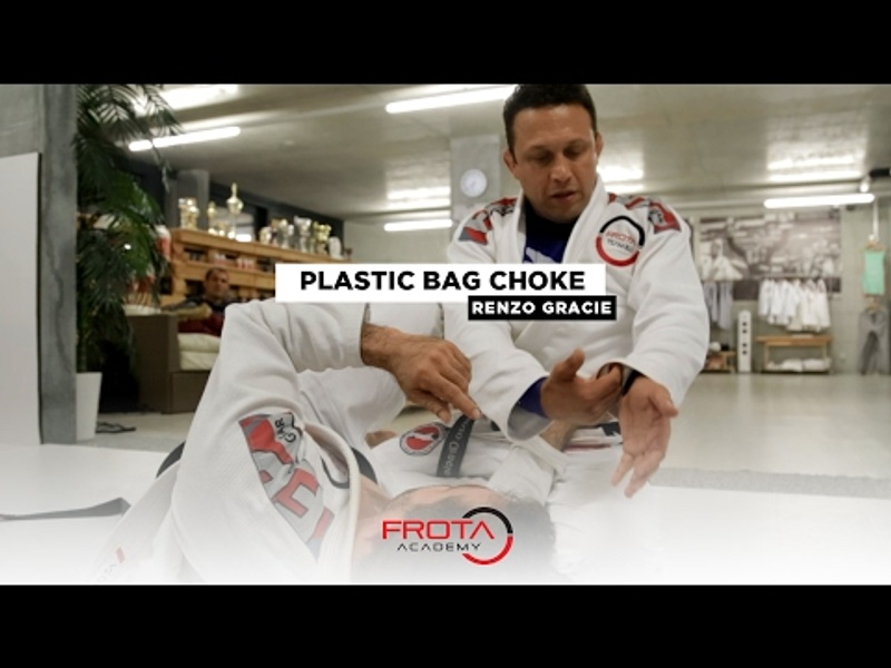 BJJ: Renzo Gracie teaches the plastic bag choke