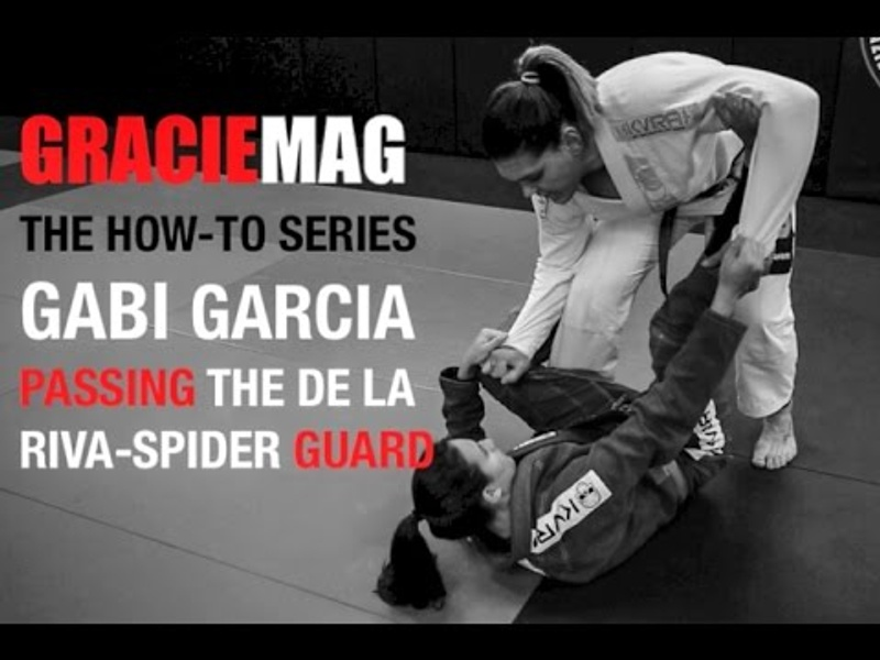Gabi Garcia teaches how to pass the DLR/spider guard