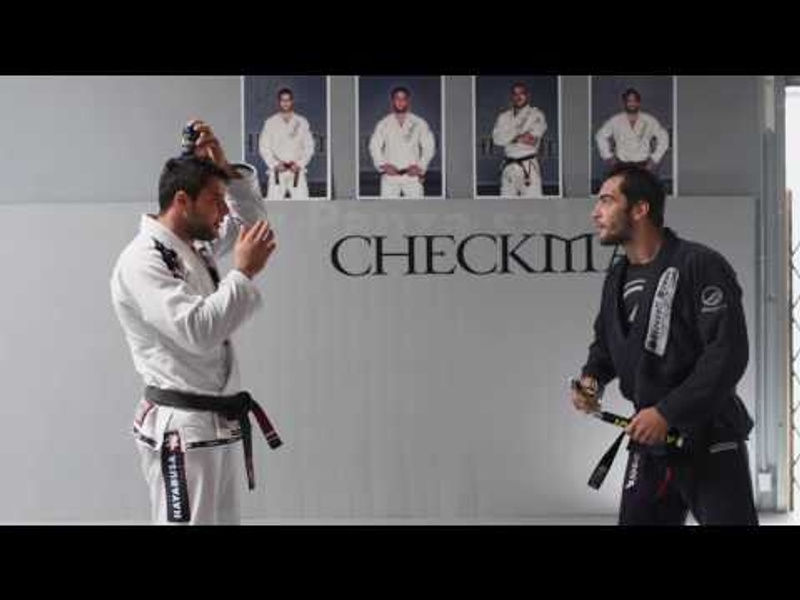 Brazilian Jiu-Jitsu or Ninjutsu? Luiz Panza shows his nunchaku skills on Marcus Buchecha