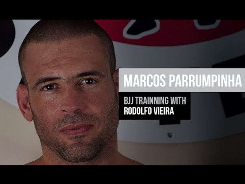 Marcos Parrumpinha will be in the # worldmaster2016, competing in the Super Heavy Weight. Check out  your video training with Rodolfo Vieira