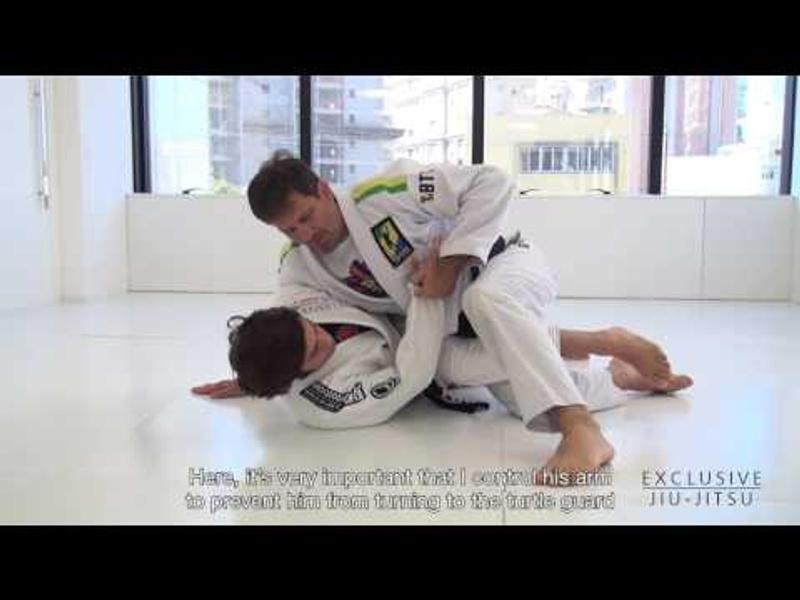 Brazilian Jiu-Jitsu lesson: Murilo Bustamante teaches how to sweep and pass straight to the mount