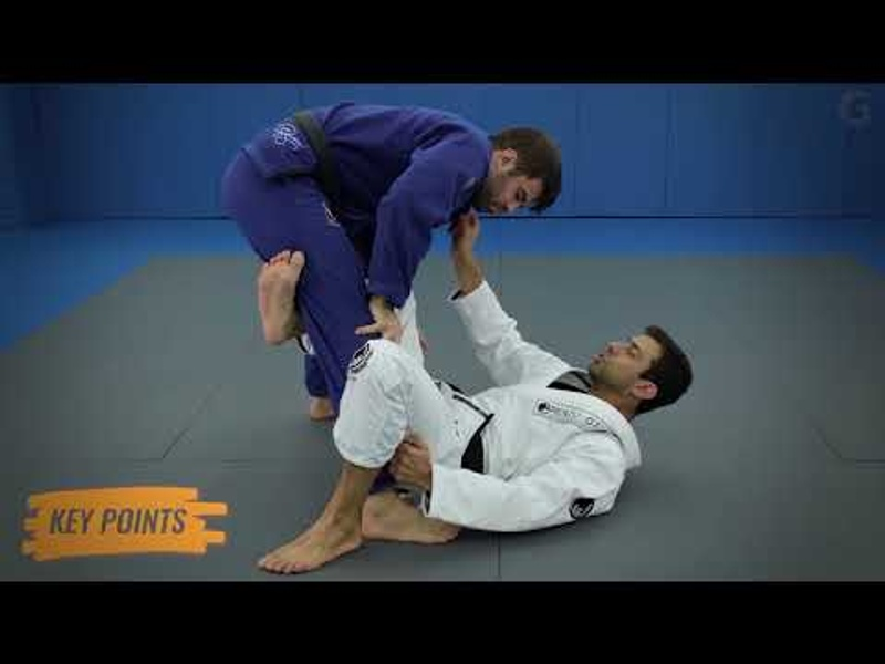 Basic sweep from the X-guard