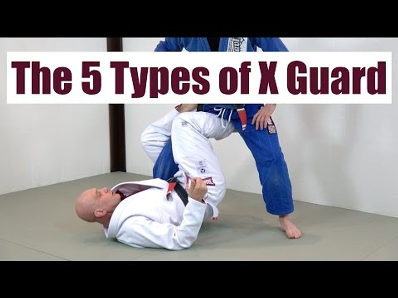 5 different ways to do the X-guard in BJJ