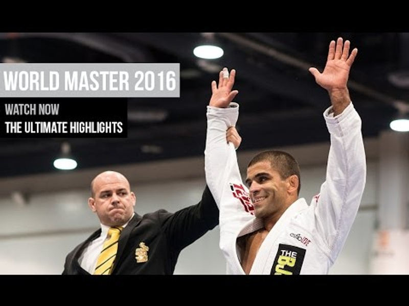 BJJ World Master 2016: the ultimate highlights