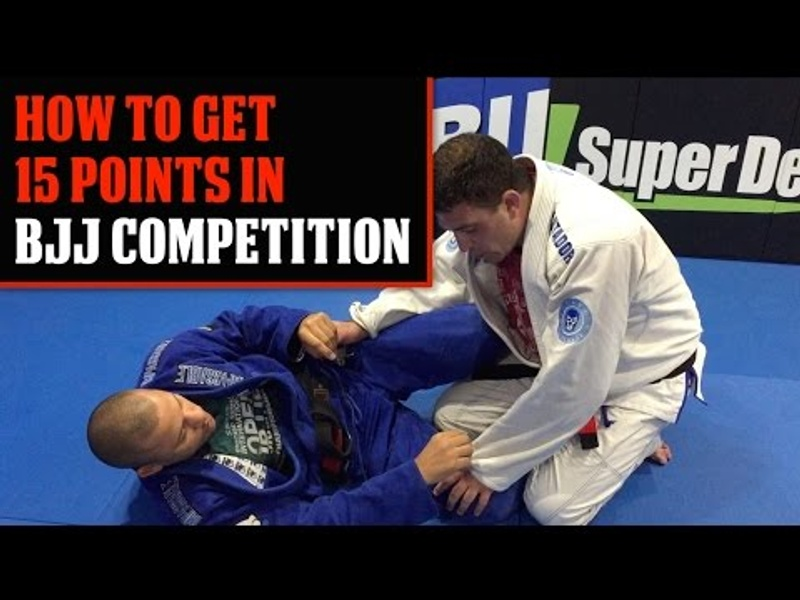 Learn how to score 15 points in BJJ