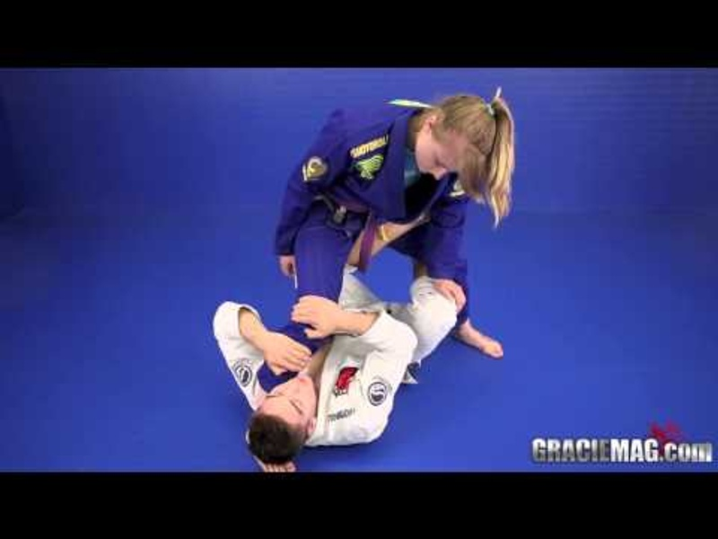 Gianni Grippo teaches how to apply inverted De la Riva-to-X-guard sweep