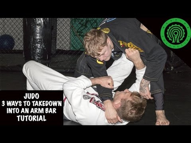 BJJ: 3 ways to take down and sink an armbar