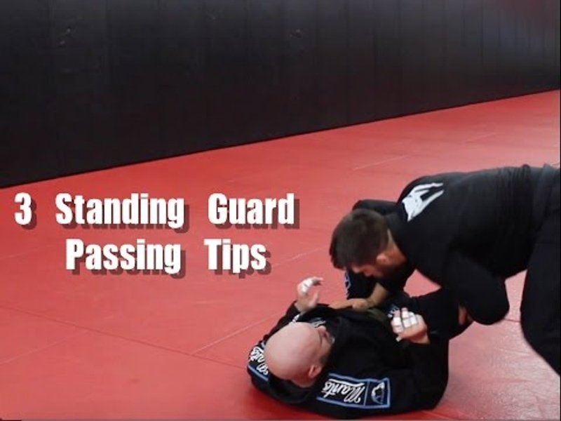 3 tips for passing guard standing in BJJ