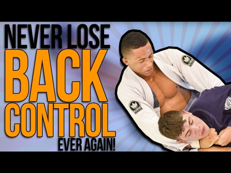 3 drills for controlling the back in BJJ