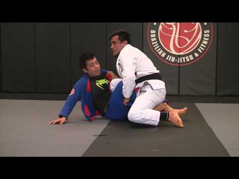 "BJJ: Charles ""Cobrinha"" teaches the sacrifice sweep"