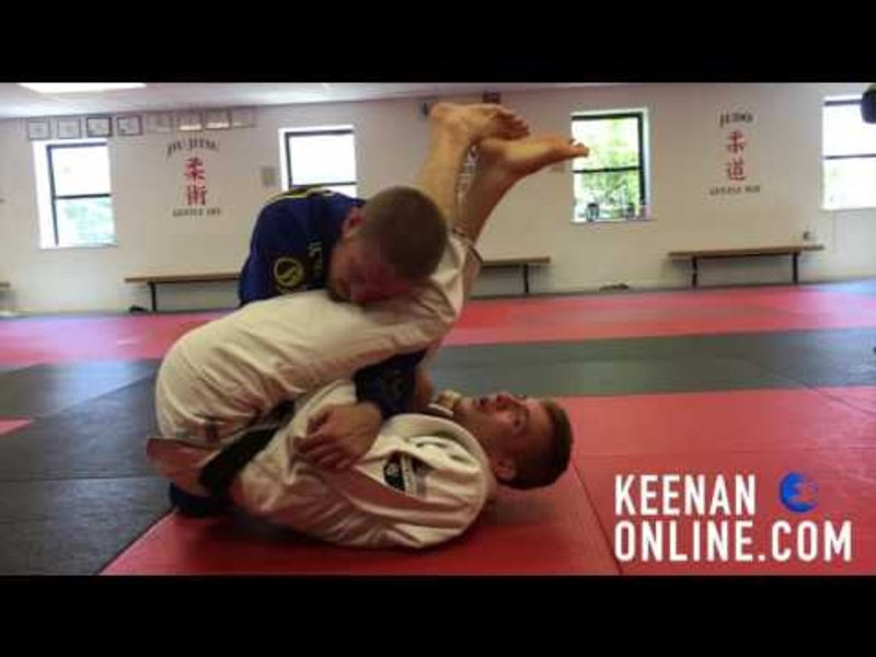 Brazilian Jiu-Jitsu lesson: Keenan Cornelius teaches 4 tricks to finishing via armbar