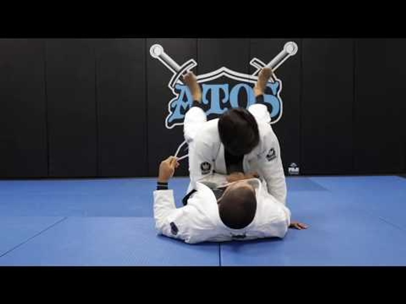 André Galvão: how to use the arm drag from the closed guard to take the back in BJJ