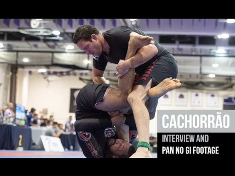 "Former UFC fighter Ricardo ""Cachorrão"" talks about competing in BJJ"