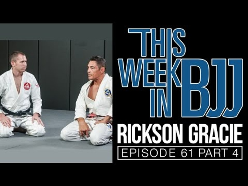 Learn how to escape the mount in BJJ, with Rickson Gracie