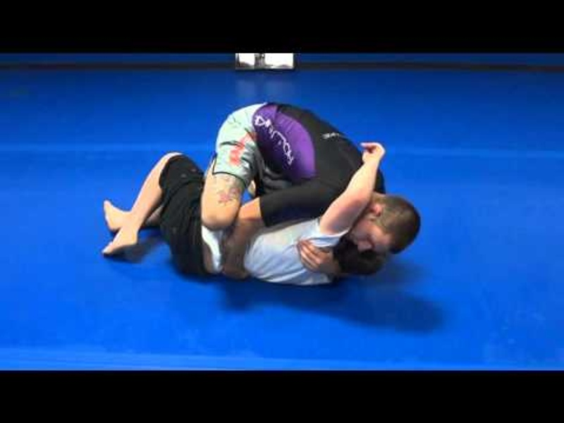 BJJ: Gordon Ryan teaches a back-take from the knee on belly